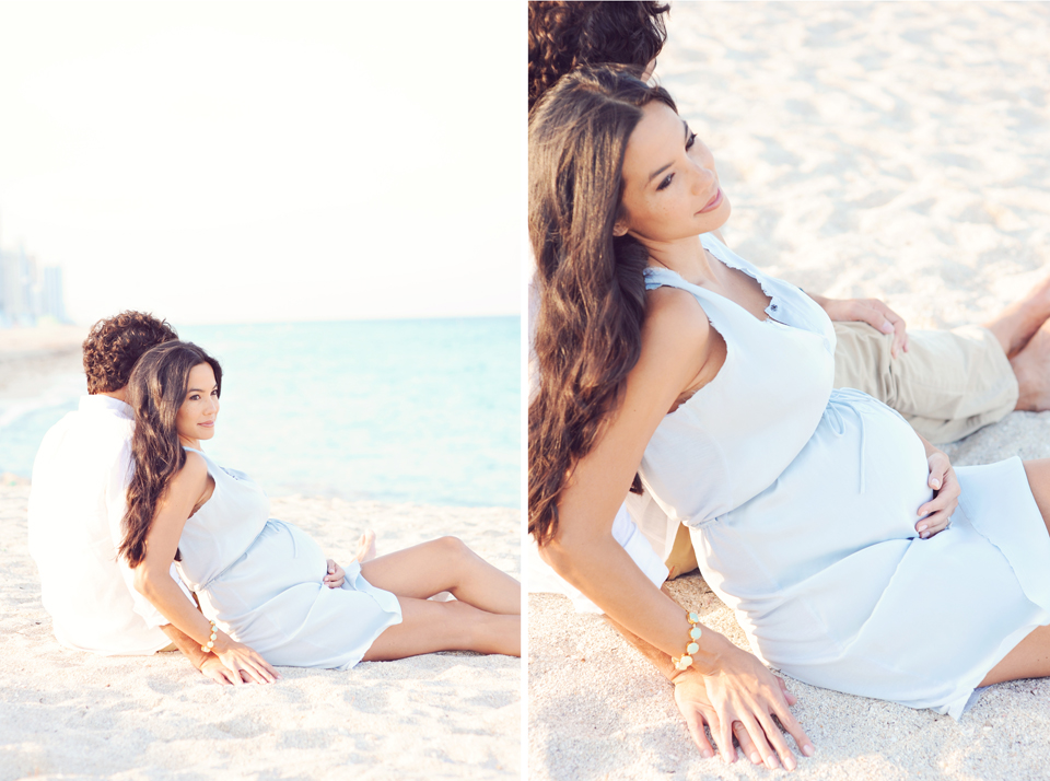 Outdoor Maternity Photos in Miami