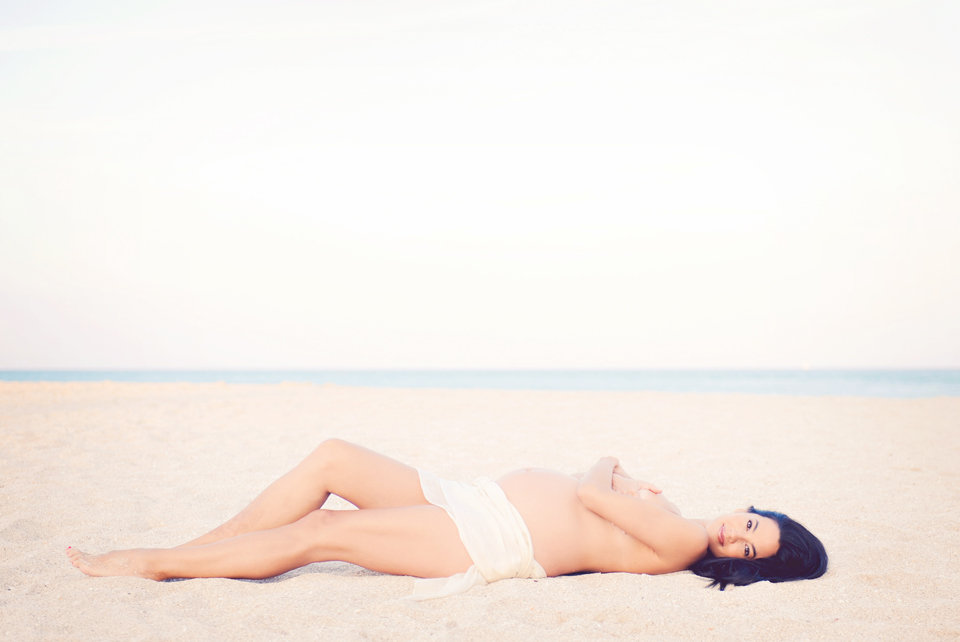 Sunny Isles Beach Maternity Photography Session