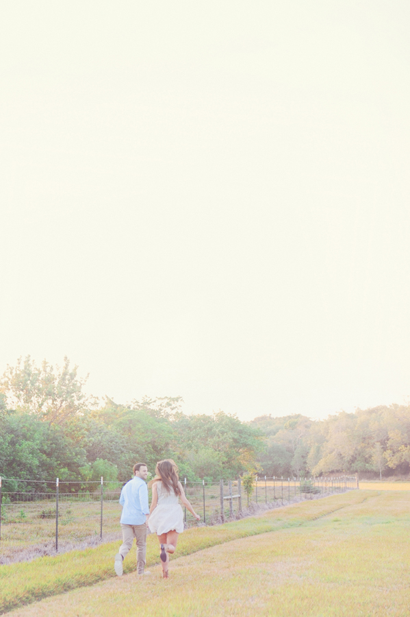 Miami engagement session in the fields.