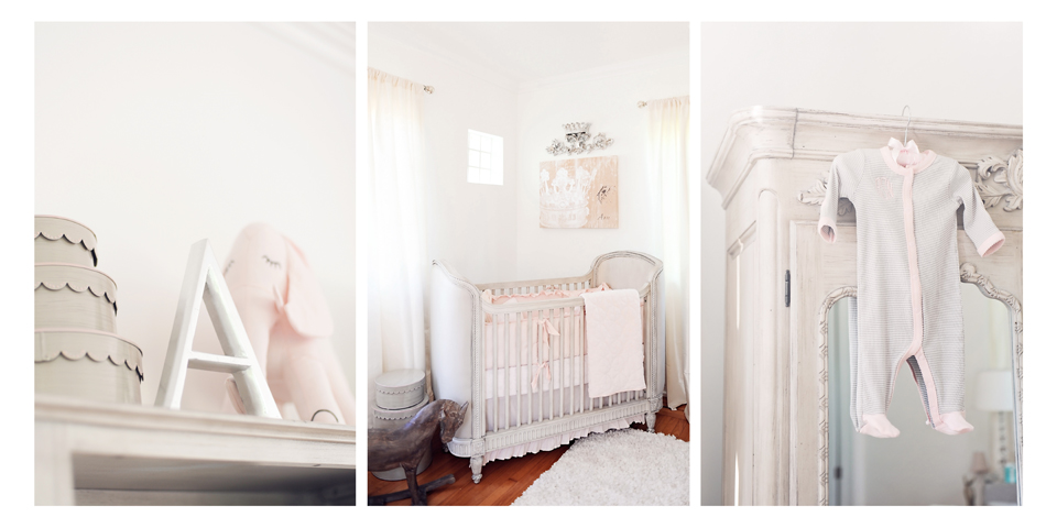 Nursery details for Miami Newborn Photography session.
