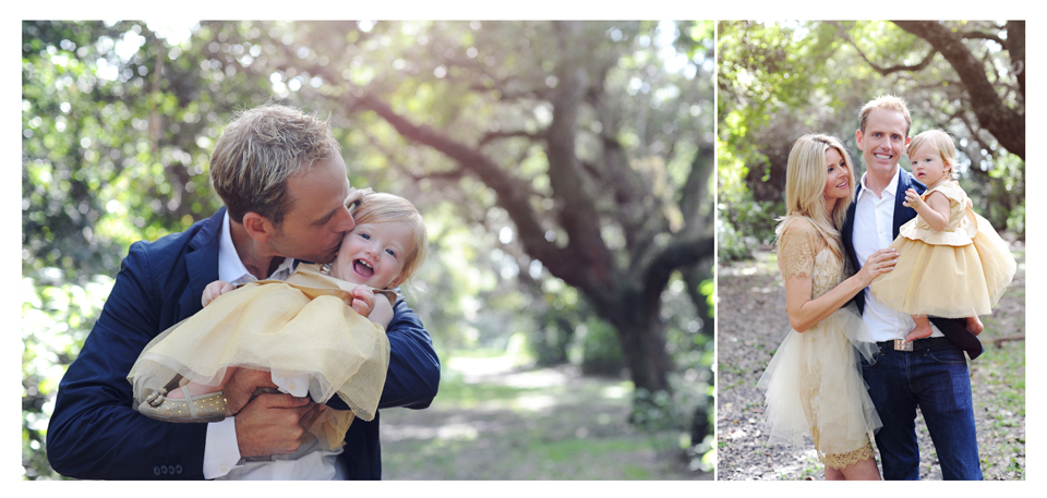 Father and daughter during miami photo session.