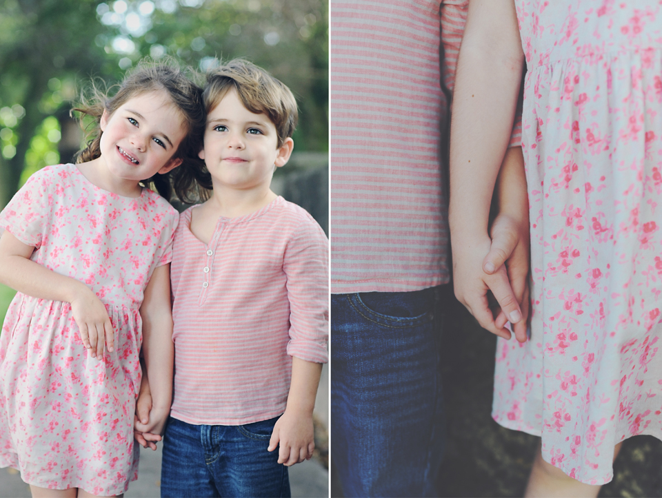 Siblings play for Miami Child Photographer.