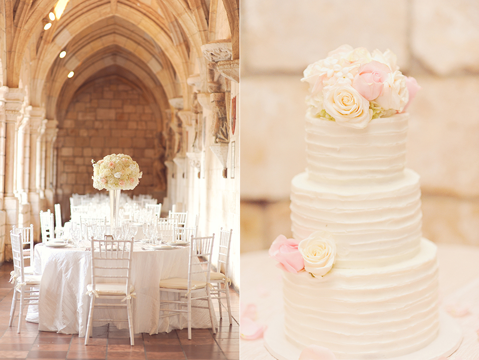 Details from Spanish Monastery Wedding