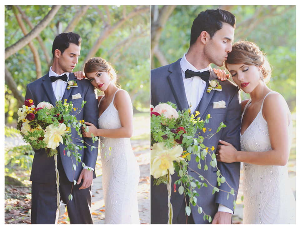 Outdoor Miami wedding at the Old Grove.
