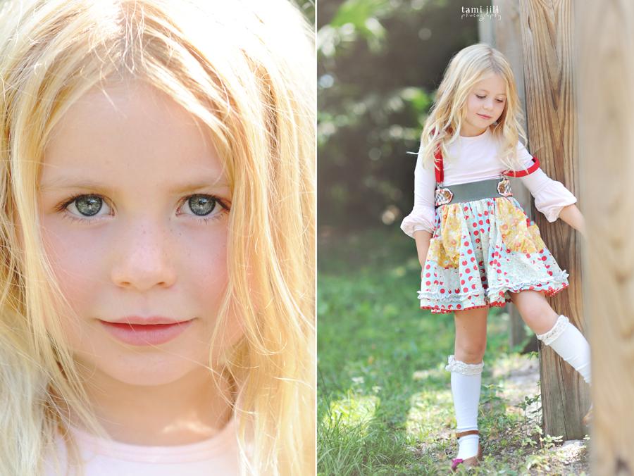 Engagement >> Child Modeling Photography